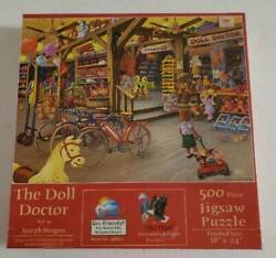 The Doll Doctor Joseph Burgess 500 Piece Jigsaw Puzzle Sunsout Toy Store New Sea