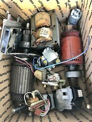 21 Pounds Electric Motors And Transformers - Copper Recovery Scrap