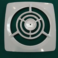 Nutone 8170 Vintage Through The Wall Exhaust Fan Nos Aluminum White New In Box