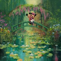 James Coleman Mickey And Minnie At Giverny Disney Fine Art