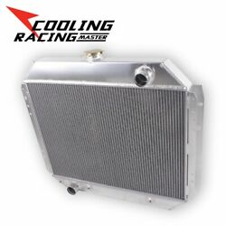 3 Rows Alloy Radiator For Ford Pickup F-series F-100 F-150 F-250 F-350 V8 66-79