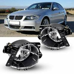 Fog Lights Replacement Compatible With 2006 2007 2008 Bmw E90 3 Series Fog La...