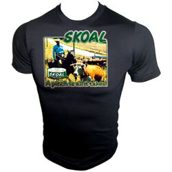 Skoal Dip Chew Bandit Rodeo Cowboy Country Music 70s Vtg Iron-on New T-shirt