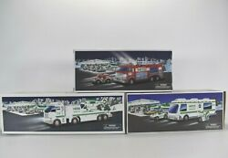 Hess Truck Lot Of 3 1998,2005, 2006 Collectable - New Old Stock - 2005 Box Dmgd