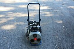 Electric Eel Model E Drain Cleaning Machine 75and039 3/8 Cable Tools Euc
