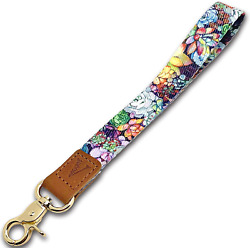 Wrist Lanyard Key Chain Wristlet Strap Keychain Holder with Lobster Clasp amp; for $10.60