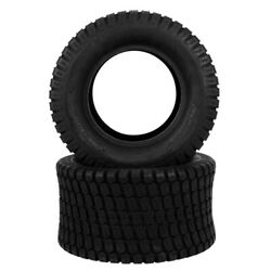 Set Of 2 24x12.00-12 Lawn Mower Tractor Turf Tires 6 Ply 24x12-12 Tubeless