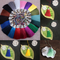 33colors 8cm Fish Mouth Tassel Diy Craft Charm For Jewelry Makings Decorations