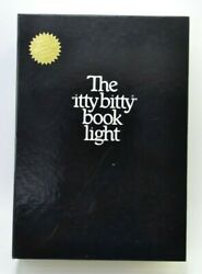 Vintage 1982 Zelco The Itty Bitty Book Light Complete With Spare Bulb-it Works