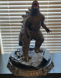 Mtime Godzilla 2019 Statue Giant New Rare Very Hard To Find Includes Box