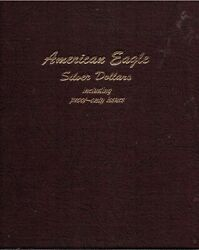 American Silver Eagle 1986- 2012 Including Proof Only Dansco 4 Page Album
