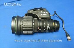 Canon Yj12x6.5b4 Krs Sx12 2/3 Sd B4 Mount Wide Angle Lens