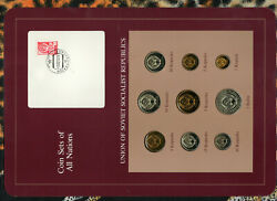 Coin Sets Of All Nations Ussr Russia Unc 1 Ruble 23510152050 Kopeck 1979