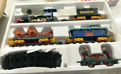Vintage Animated Musical Christmas Magic Train Set By Toy State  New In Box