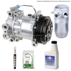 For Toyota Camry Highlander Ac Compressor And A/c Repair Kit Tcp