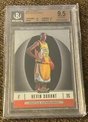 Kevin Durant 06-07 Finest Xrc Rookie 102 Bgs 9.5 68/539