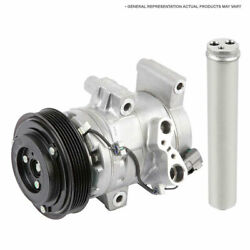 For Acura Mdx 2014 2015 2016 Oem Ac Compressor W/ A/c Clutch And Drier Tcp
