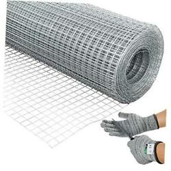 36and039and039 X 100and039 1/2inch Hardware Cloth 19 Gauge Galvanized Welded Cage Wire