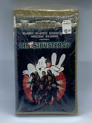 Ghostbusters 2 Vhs 1996 Big Clamshell Brand New Factory Sealed Vb5