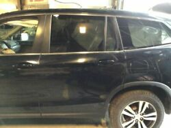 Driver Rear Side Door Electric Without Sunshade Fits 16-18 Pilot Black 3210358