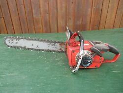 Vintage Homelite Xl1 Chainsaw Chain Saw With 16 Bar