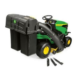 John Deere Twin Bagger For 100 Series Lawn Tractors 48 In. Automatic Lid Latch