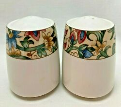 Royal Doulton Everyday Jacobean Salt And Pepper Shakers