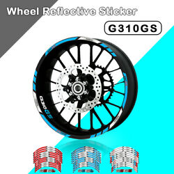 Reflective Strips Wheel Stickers Tire Decals Rim Hub Tape For Bmw G310gs G310 Gs