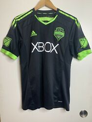Seattle Sounders Fc 2014/2015 Clint Dempsey Third Authentic Jersey Pitch Black