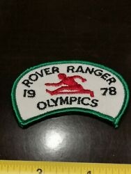 1960s 1970s Girl Guides Canada Ontario Rover Ranger 1978 Olympics Badge Patch