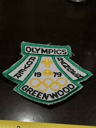 Girl Guides Canada Ontario Rover Ranger 1979 Olympics Greenwood Badge Patch