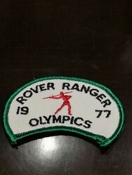 1960s 1970s Girl Guides Canada Ontario Rover Ranger 1977 Olympics Badge Patch