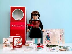 Molly American Girl Doll W/ Accessories - In Box, 18, Great Cond. Vguc