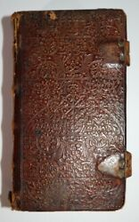 1648 Holy Bible Old New Testament Whole Book Of Psalms Cambridge Roger Daniel
