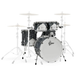 Gretsch Renown 57 22 Fusion Shell Pack In Silver Oyster Pearl