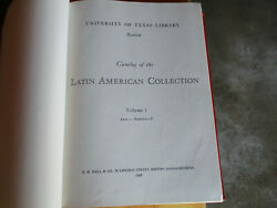 University Of Texas Library Austin Catalog Of Latin American Library Collection