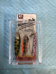 Luhr Jensen Needlefish Trolling Wobblers/spoons Pack Of 3 Lot Of 10