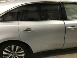 14 15 Acura Mdx Passenger Rear Side Door Electric W/o Rear Entertainment System