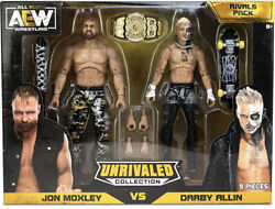 Aew Unrivaled Darby Allin Jon Moxley Rivals Pack Preorder Amazon Exclusive
