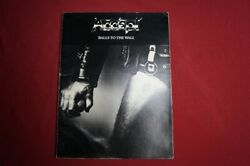 Accept - Balls To The Wall .songbook Notenbuch .piano Vocal Guitar Pvg