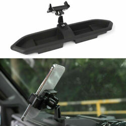Car Mount For Cell Phone Holder Gps Storage Organizers Tray For Jeep Jl 2018+ R