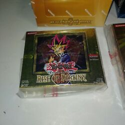 Yugioh Rise Of Destiny 1st Edition Booster Box Sealed