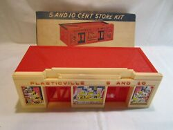 Vintage O And S Gauge Scale Plasticville Train Scenery Building Accessory With Box