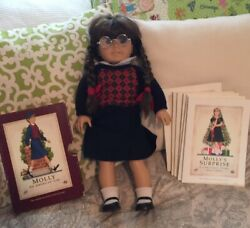 American Girl Doll Molly, Vintage, With Book Set, Vgc