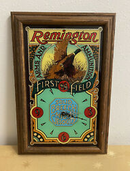 Remington Arms And Ammunition First In The Field Wall Clock Not Working
