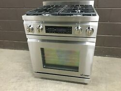 Dacor 30 - Dr30d/ng Professional Dual Fuel Range 4 Burners Stainless