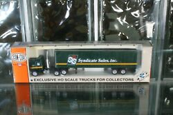 Ho Scale 0004-001080 Con-cor Tractor And 45' Trailer Syndicate Sales Inc.