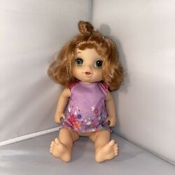 Baby Alive Potty Dance Baby Walmart Exclusive Red Hair Doll