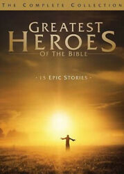 Greatest Heroes Of The Bible The Complete Collection [region 1] - Dvd - New