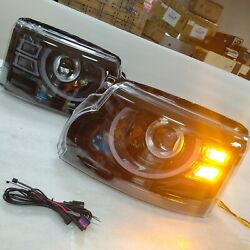 Full Led Front Lamps For Land Rover Discovery Led Headlights 2010-2016 Year Cn